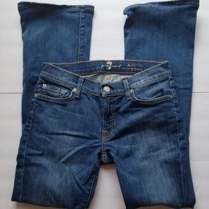 Sz 27 7 for all man kind Jeans
